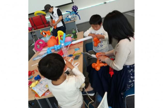 日本一のバルーン講師が教えるバルーンアートを親子で体験しよう☆