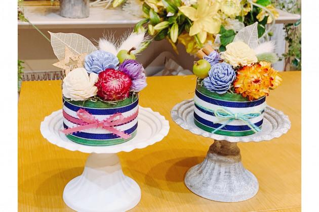 飾って可愛い♡フラワーケーキを作ろう♪